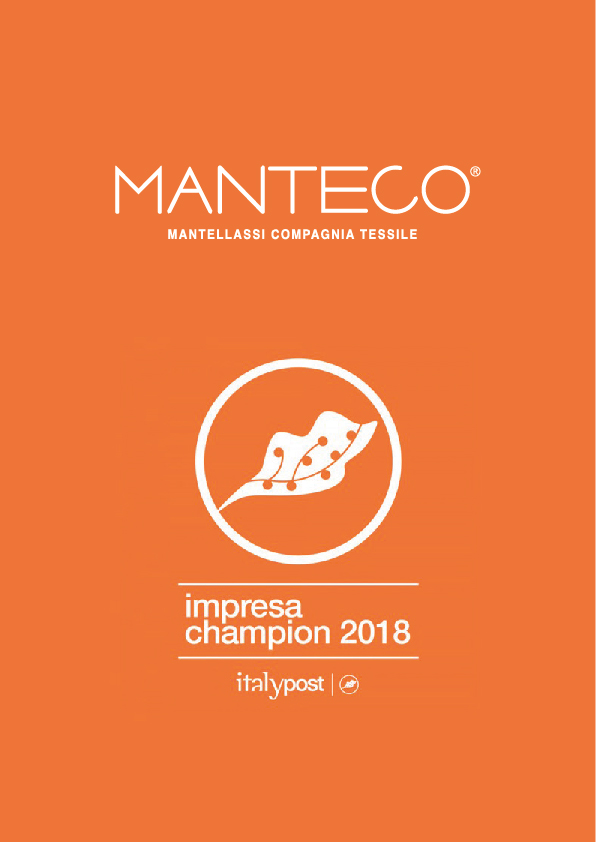 "Manteco is amongst ""The 500 Made in Italy Champions 2018"""